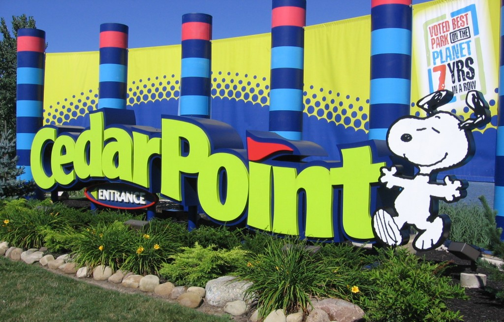 Entrance to Cedar Point